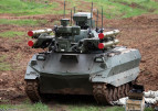 American and Russian Development of Military Unmanned Ground Vehicles