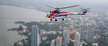 Assembly of the Units of  Mi-171A3 Offshore Helicopter Begins