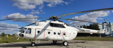 A batch of five Mi-8MTV-1 Helicopters Delivered to Customer
