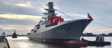 TCG Istanbul (F-515) Turkey's First Indigenous Vessel