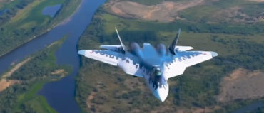 Su-57 Fighter Presented Abroad for the First Time