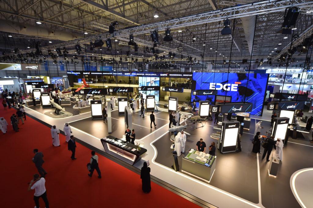 EDGE Pavilion at Dubai Airshow 2019