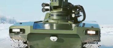 Marker Robotic Platform to Combat UAVs