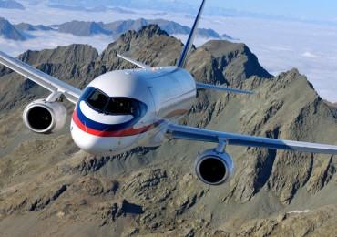 На самолете SSJ100 начались испытания новой навигационной системы