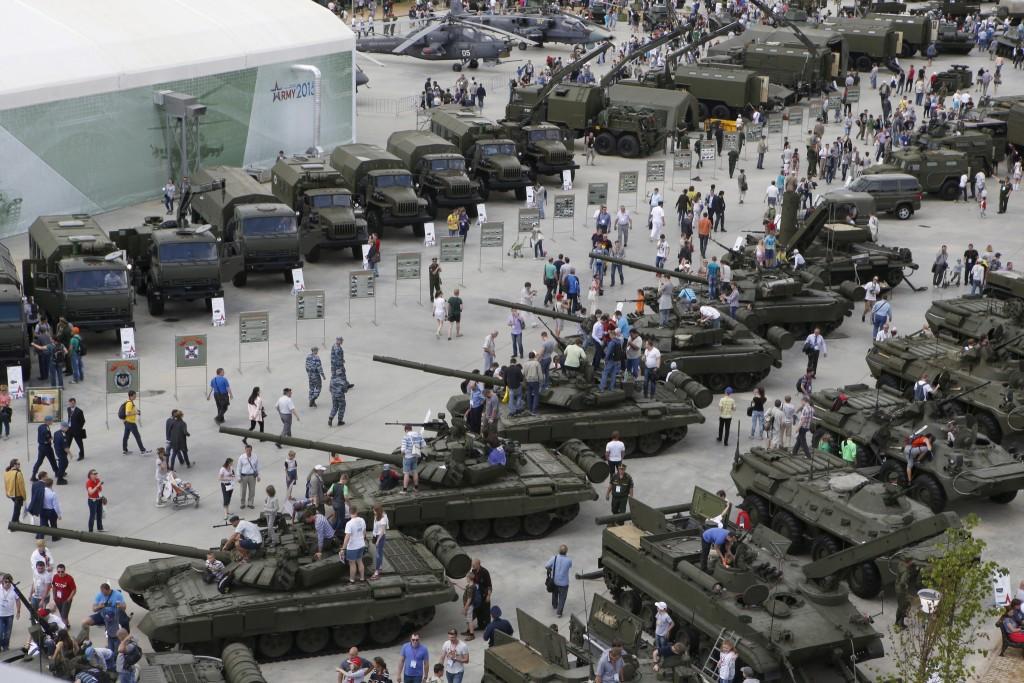 Армия Выставка Танки