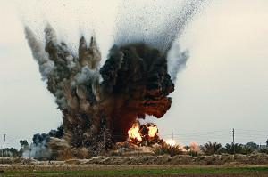 Бомбежка в Сирии