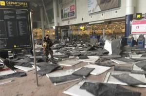 Терракт Бельгия аэропорт