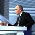 Владимир Путин - Прямая линия 2016