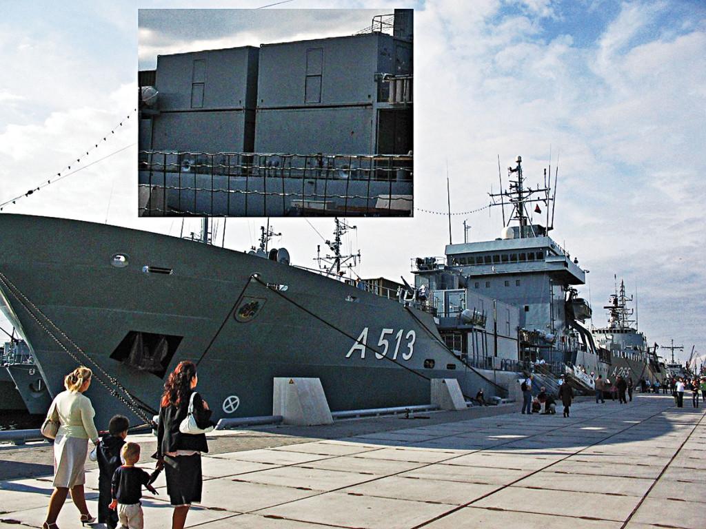 Вспомогательный корабль Rhein класса «Эльба»