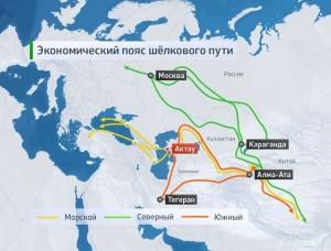Экономический пояс Шелкового пути