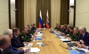 Путин_ встреча с Минобороны и ВПК в Сочи_ноябрь 2016