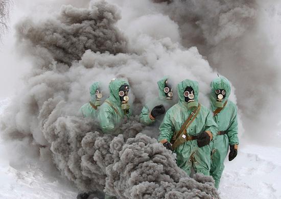 Войска химзащиты РХБЗ