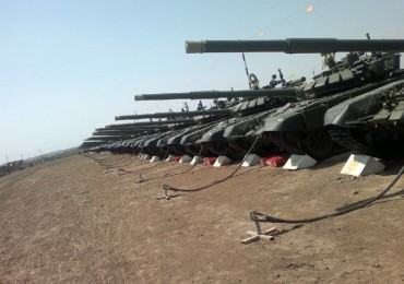 Первая танковая армия пополнилась новым танковым и мотострелковым полком