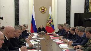 Путин на заседании ВПК 26.01.2017 Москва