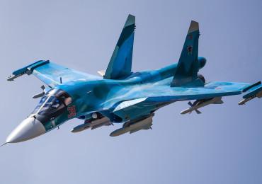 """Компания """"Сухой"""" передала ВКС первую в этом году партию самолетов Су-34"""