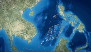 Спорные между Китаем, Вьетнамом и Малайзией острова