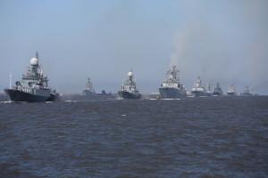 Илья Чечкин - Военно-морской парад в Петербурге 2017