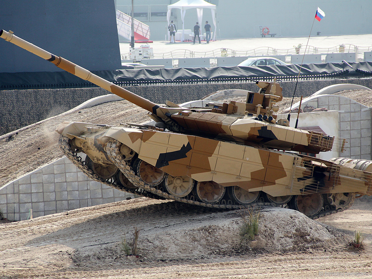Танк Т-90МС_ Каталог Рособоронэкспорт
