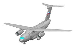 Проект среднего военно-транспортного самолета Ил-276_ ПАО Ил
