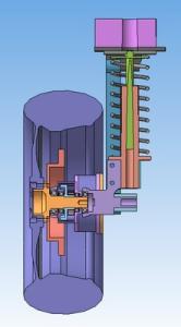 Проект-2_Пример исполнения мотор-колеса_Вид сбоку