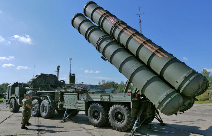 Ракетный комплекс С-400 Триумф_ Алмаз-Антей