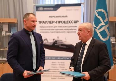 """Северная верфь и """"Норебо"""" договорились о строительстве шести рыбопромысловых судов"""