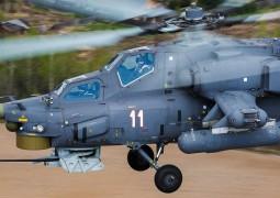 В рамках гособоронзаказа армейская авиация юга России пополнилась учебно-боевыми вертолетами Ми-28УБ