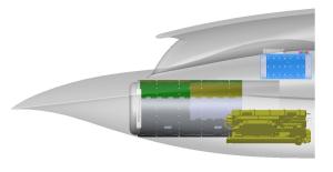 Проект-6_ БЛА-перехватчик_расположение оборудования_вид сбоку