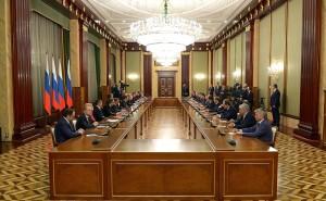 Путин_Встреча с членами Правительства РФ-декабрь 2017
