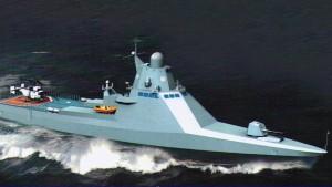 Патрульный корабль проекта 2216_ Корвет