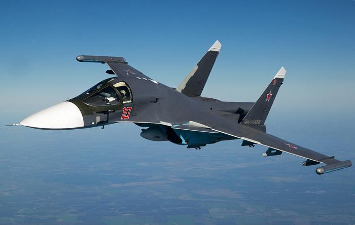 Су-34(фото RussianPlanes, 2013 г.)