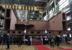 На заводе «Вымпел» заложили второй морской транспорт вооружения
