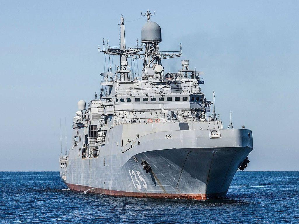 Большой противолодочный корабль_ Иван Грен