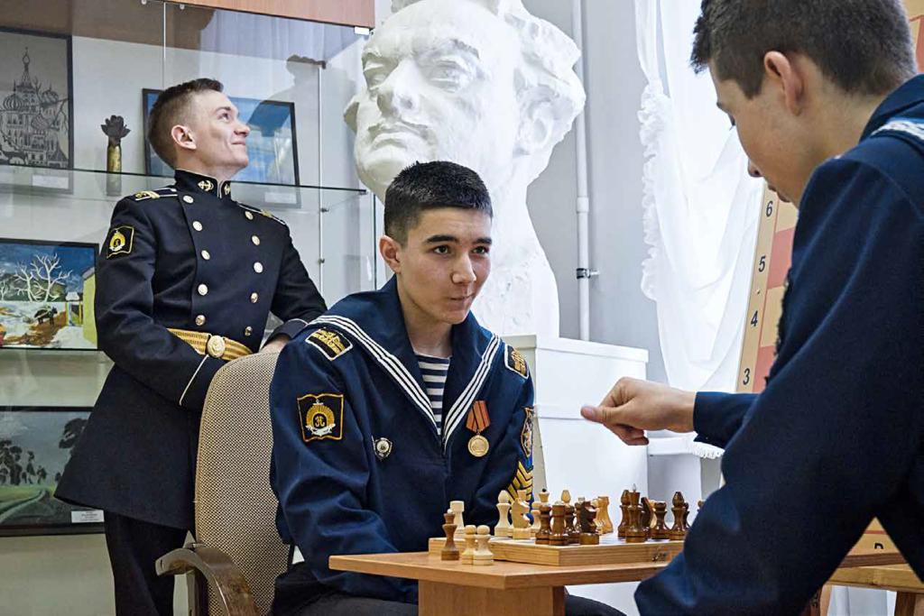 Нахимовское училище и Завод Купол -Соглашение о сотрудничестве