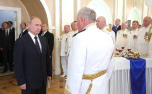 Торжественный прием_День ВМФ_2018_ Владимир Путин
