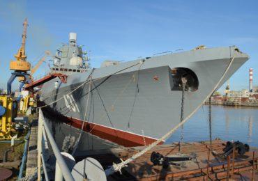 """Северная верфь:  Фрегат """"Адмирал флота Касатонов"""" скоро выйдет в море"""
