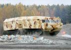 Уралвагонзавод разработал вездеход для ремонта линий электропередачи в Арктике