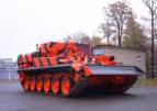 Уралвагонзавод поставил аэропорту Домодедово тягач, созданный на базе танка Т-72