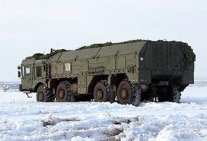 Искандер-М_ Ракетный комплекс