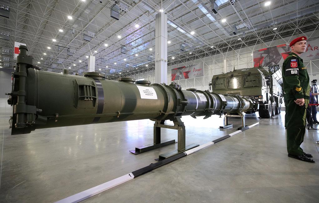Крылатая ракета 9М729 _РК Искандер-М_Фото ТАСС_Сергей Бобылев
