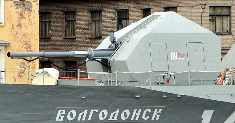 "Артиллерийская установка А-190-01 МАК ""Волгодонск"" пр.21630 (http://pfc-joker.livejournal.com/)"