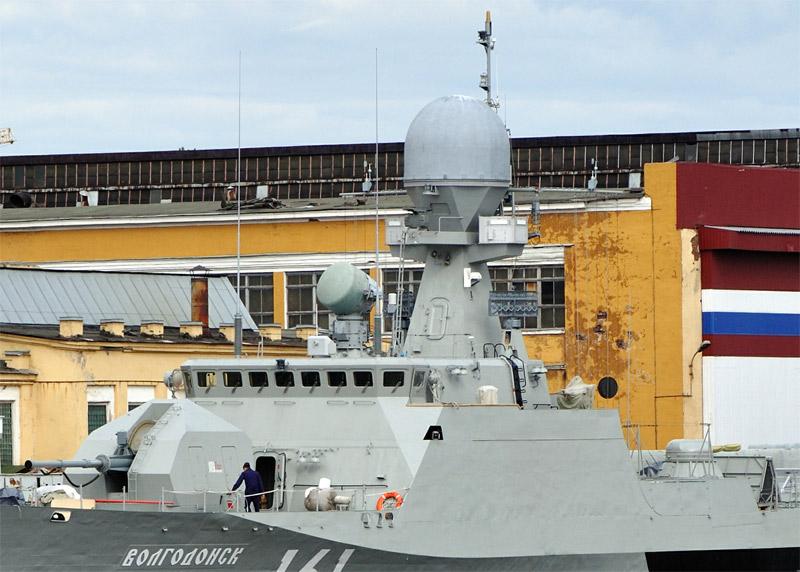 Радиотехническое вооружение малого артиллерийского корабля проекта 21360 (http://pfc-joker.livejournal.com/)