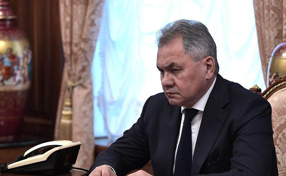 Сергей Шойгу Министр обороны РФ