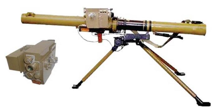 Вариант РПГ-29 со станком и оптико-электронным прицелом ПУО.