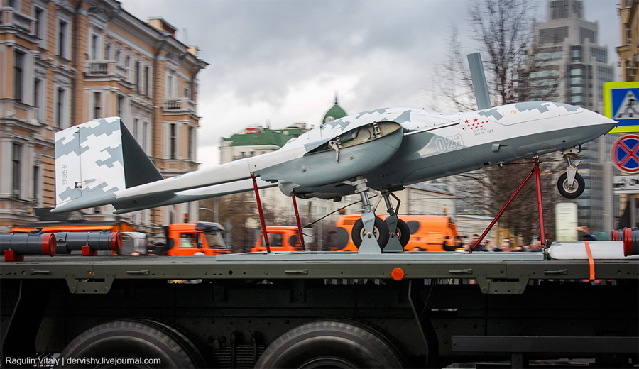 Беспилотный летательный аппарат «Корсар» (фото Виталия Рагулина)