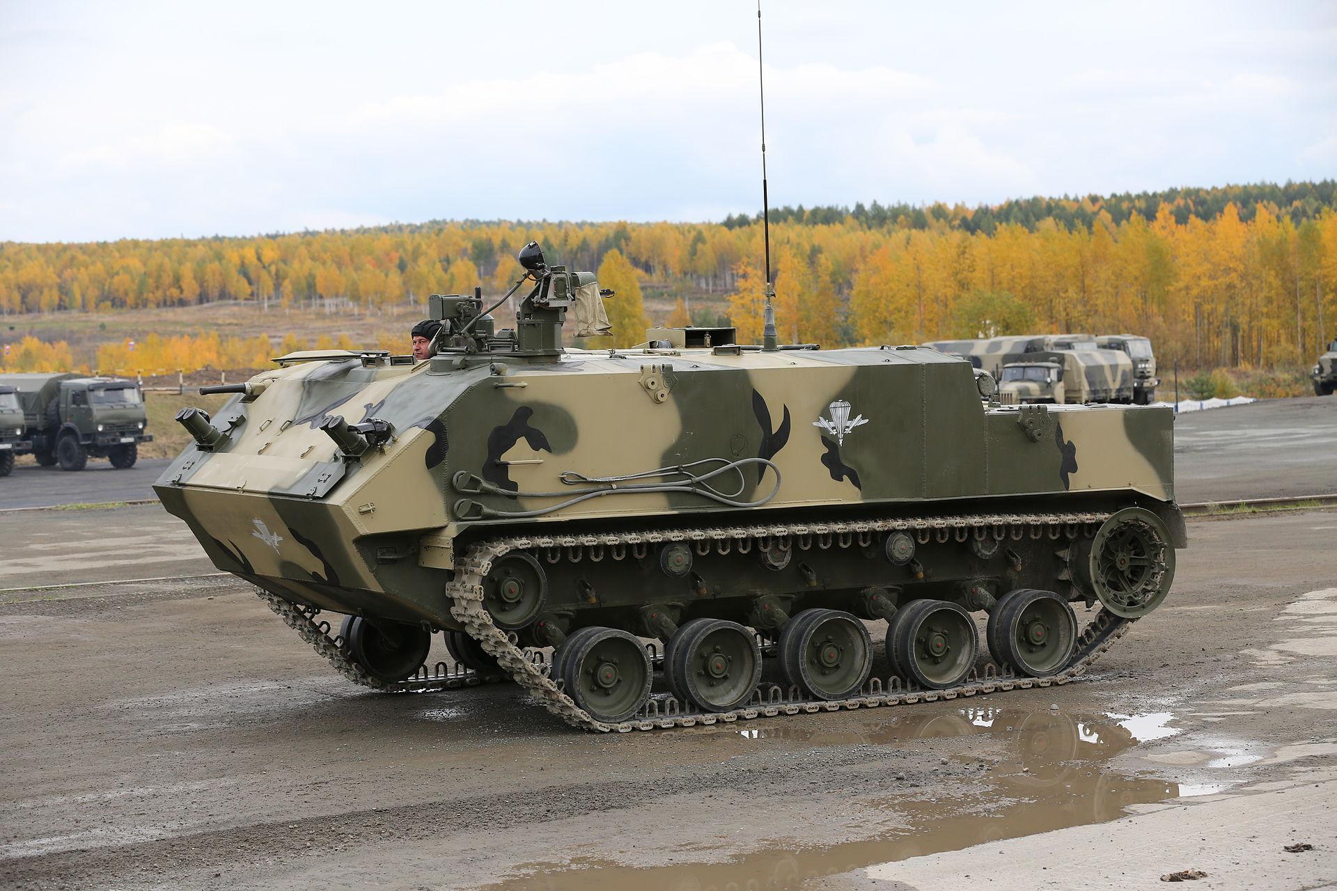 """БТР-МДМ """"Ракушка-М"""" на выставке АrmsEXPO-2013 (фото - Виталий Кузьмин, http://vitalykuzmin.net)"""