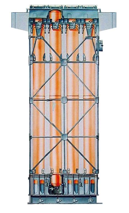 Рисунок установки вертикального пуска 3С14Э на одном из салонов МВМС в Санкт-Петербурге