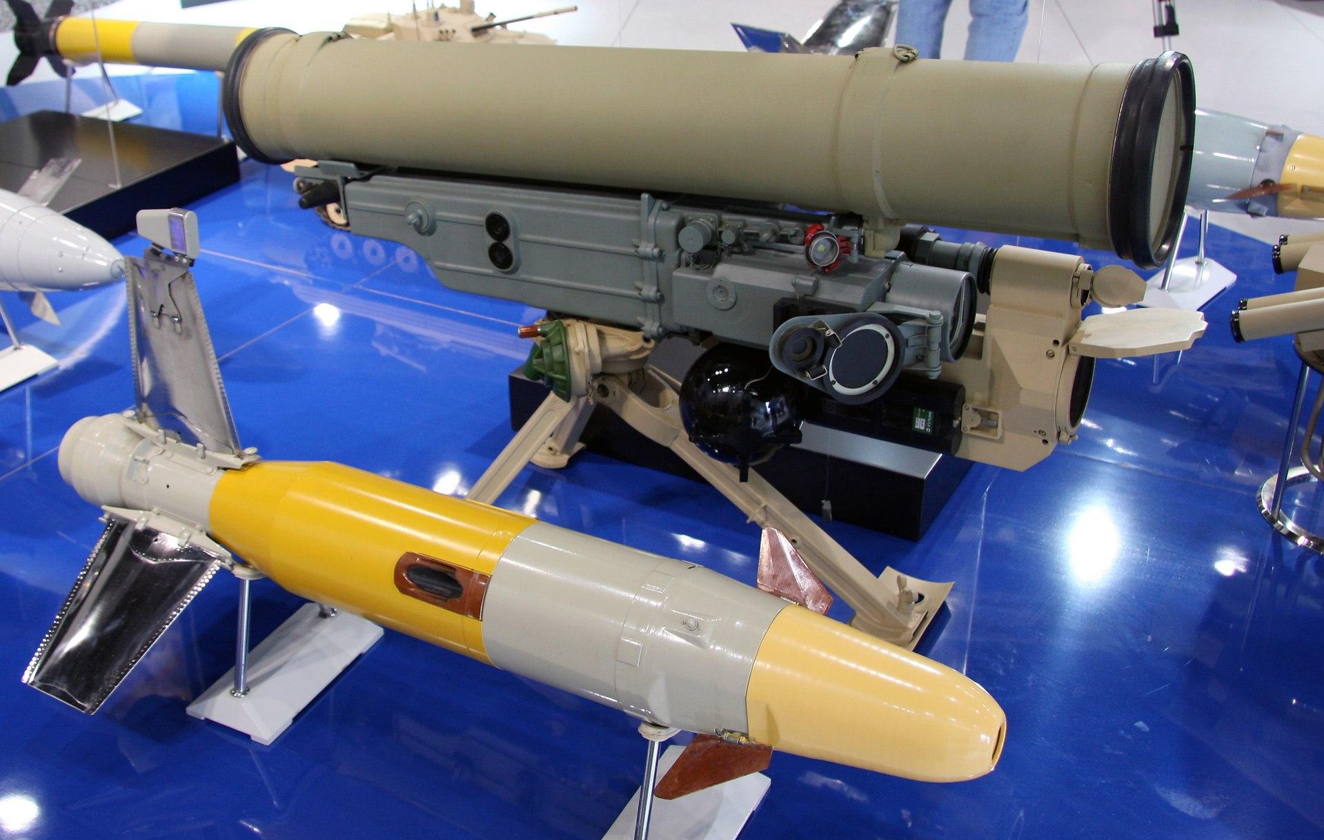"""Противотанковый ракетный комплекс """"Метис-М1"""" на авиасалоне МАКС-2009 (фото - Виталий Кузьмин, http://vitalykuzmin.net/)."""