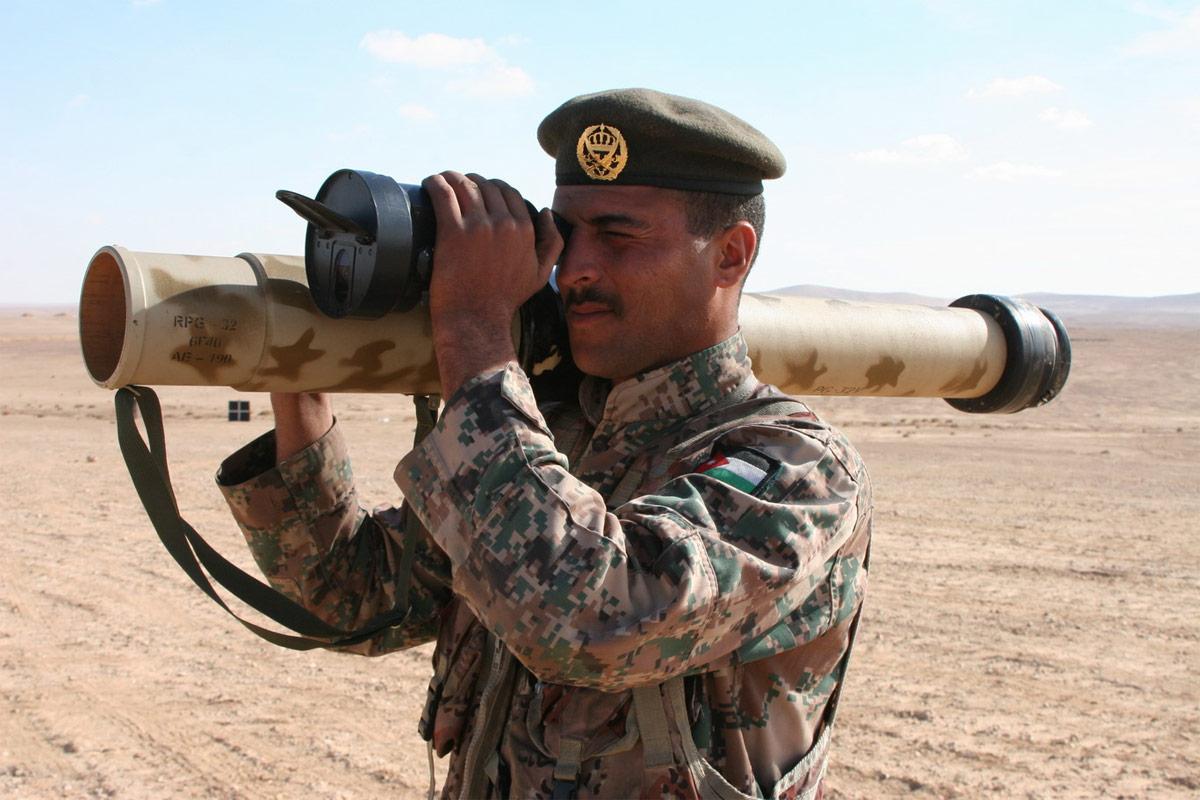"""РПГ-32 """"Хашим"""" в вооруженных силах Иордании, 2013 г. (http://www.defence24.pl)"""