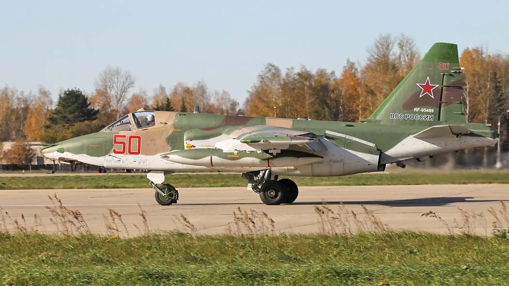 Первый серийный штурмовик Су-25СМ3 (фото - Евгений Волков, http://www.airwar.ru)